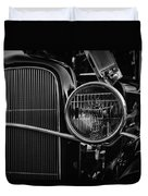 Classic American Ford Coupe Duvet Cover