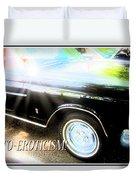 Classic Automobile, Auto Eroticism Duvet Cover