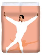 Ballet Master Dancer Duvet Cover