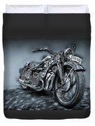 Classic Bike Duvet Cover