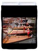 Classic Boats Duvet Cover
