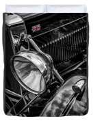 Classic Britsh Mg Duvet Cover