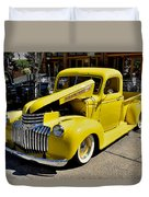 Classic Chevy Pickup Duvet Cover