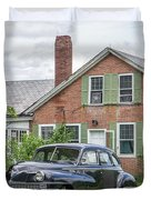 Classic Chrysler 1940s Sedan Duvet Cover