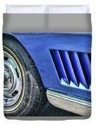 Classic Corvette Mako Shark 1965 Duvet Cover