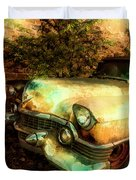 Classic Country Cadillac Painting  Duvet Cover