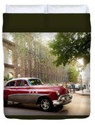 Classic Cuba Car Vii Duvet Cover