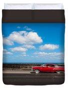 Classic Cuba Car V Duvet Cover