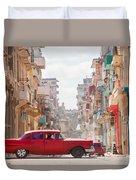 Classic Cuba Car Viii Duvet Cover