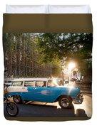 Classic Cuba Car Xii Duvet Cover