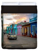 Classic Cuba Cars X1 Duvet Cover