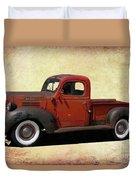 Classic Dodge Pickup Truck Duvet Cover