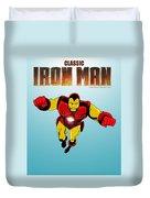 Classic Iron Man Duvet Cover