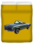 Classic Mercedes Benz 280 Sl Convertible Automobile Duvet Cover