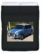 Classic Mini Cooper Duvet Cover