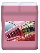 Classic Mustang Fastback Duvet Cover