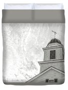 Classic New England Church Etna New Hampshire Duvet Cover