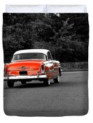 Classic Old Ford Mercury Duvet Cover