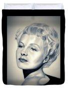 Classic Rita Hayworth Duvet Cover