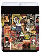Classic Rock 2 Collage Duvet Cover