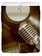 Classic Rock N Roll Duvet Cover
