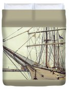 Classic Sail Ship Duvet Cover
