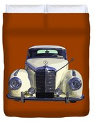 Classic White Mercedes Benz 300  Duvet Cover