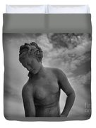 Classic Woman Statue Duvet Cover