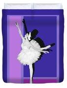 Classical Ballet Duvet Cover