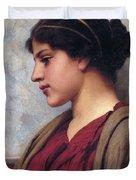 Classical Beauty John William Godward Duvet Cover
