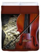 Classical Cello Duvet Cover