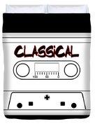 Classical Music Tape Cassette Duvet Cover