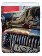 Classics Of Havana Duvet Cover