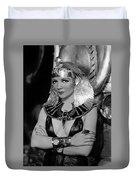 Claudette Colbert In Cleopatra 1934 Duvet Cover