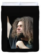 Claudio Sanchez Of Coheed And Cambria Duvet Cover