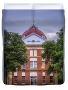 Clay County Courthouse Duvet Cover
