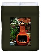 Clay Furnace Duvet Cover