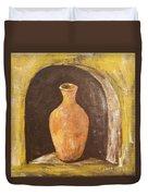 Clay Vase Duvet Cover