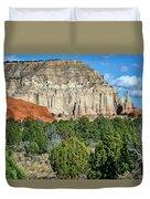 Claystone - Sandstone - Kodachrome Basin Duvet Cover