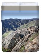 Clear Creek Canyon Duvet Cover