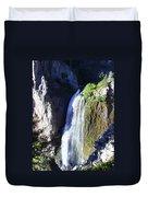 Clear Creek Waterfall  Duvet Cover