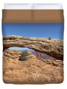 Clear Day At Mesa Arch - Canyonlands National Park Duvet Cover