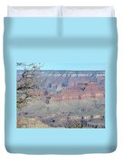 Clear Day At The South Rim Duvet Cover