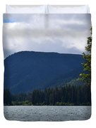 Clear Lake View Duvet Cover