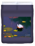 Clear Reflections Lotus Duvet Cover