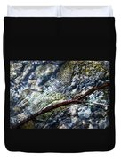 Clear Water Level With Twigs Duvet Cover