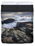 Clearing Storm At Bald Head Cliff Duvet Cover