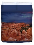 Clearing Storm Over The Hoodoos Bryce Canyon National Park Duvet Cover by Dave Welling