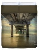 Clearwater Pier Duvet Cover