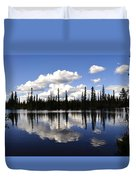 Clearwater Reflections Duvet Cover